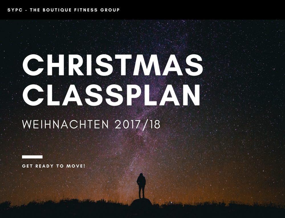 CHRISTMAS CLASSPLAN